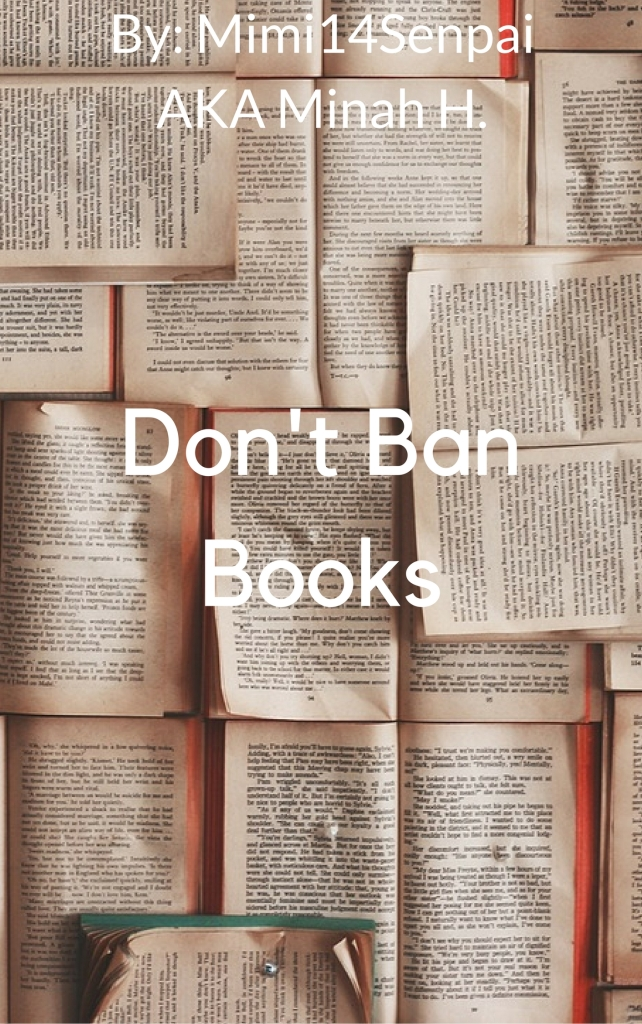 Don't Ban Books (Article Cover)