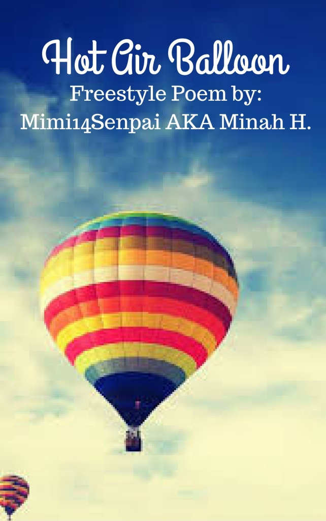 Hot Air Balloon (Poem Cover)