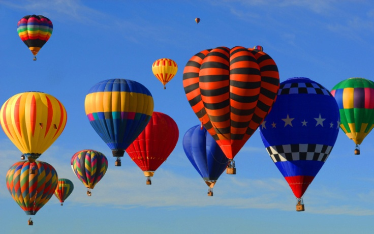 Hot Air Balloon (Poem Picture)