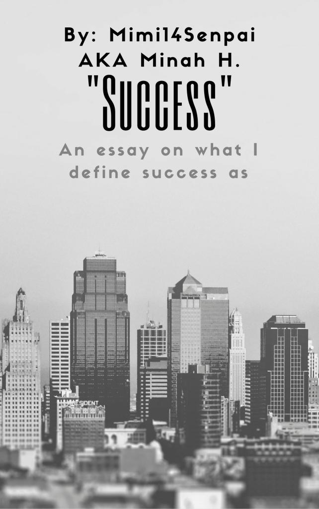 Success (Essay Cover)