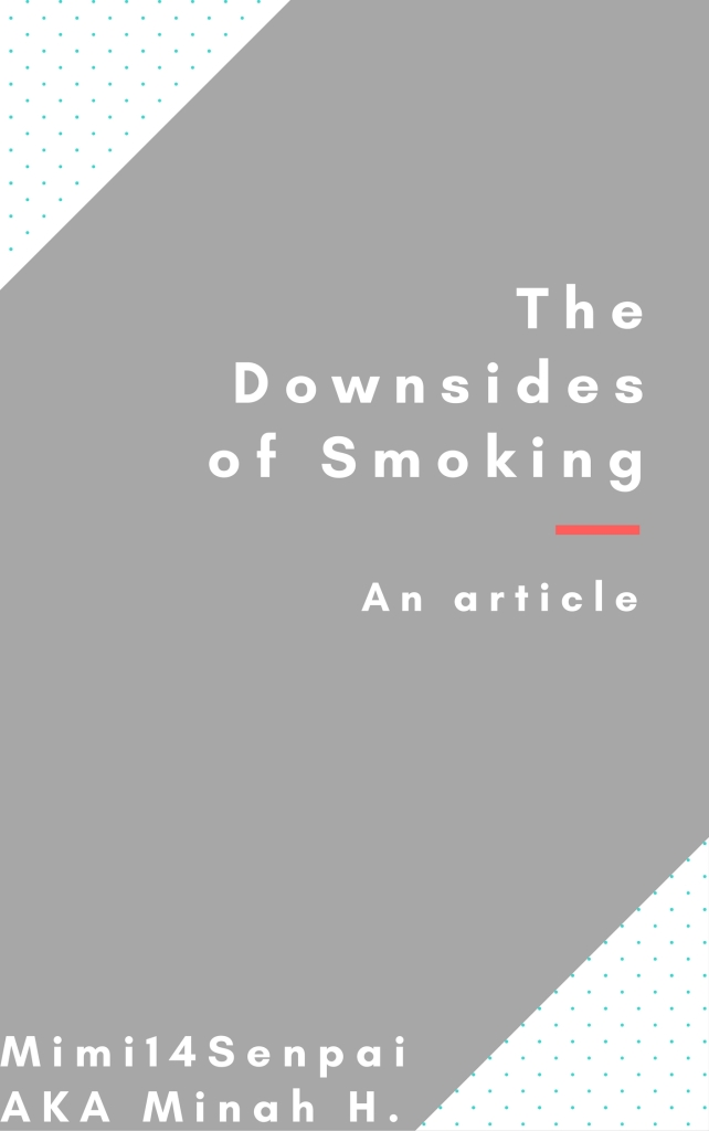 The Downsides of Smoking (Article Cover)
