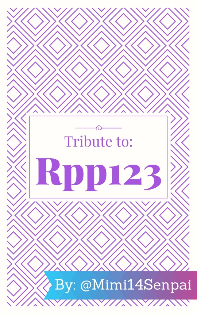 Tribute to Rpp123 (Book Cover)