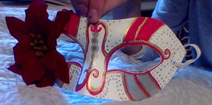 Christmas Mask (Photo #3)