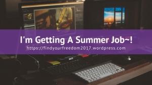 Getting-a-summer-job