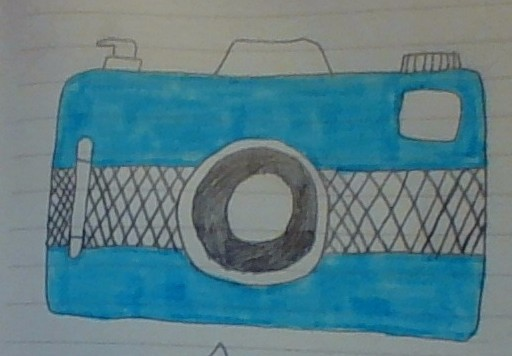 Vintage Camera (Drawing #4)