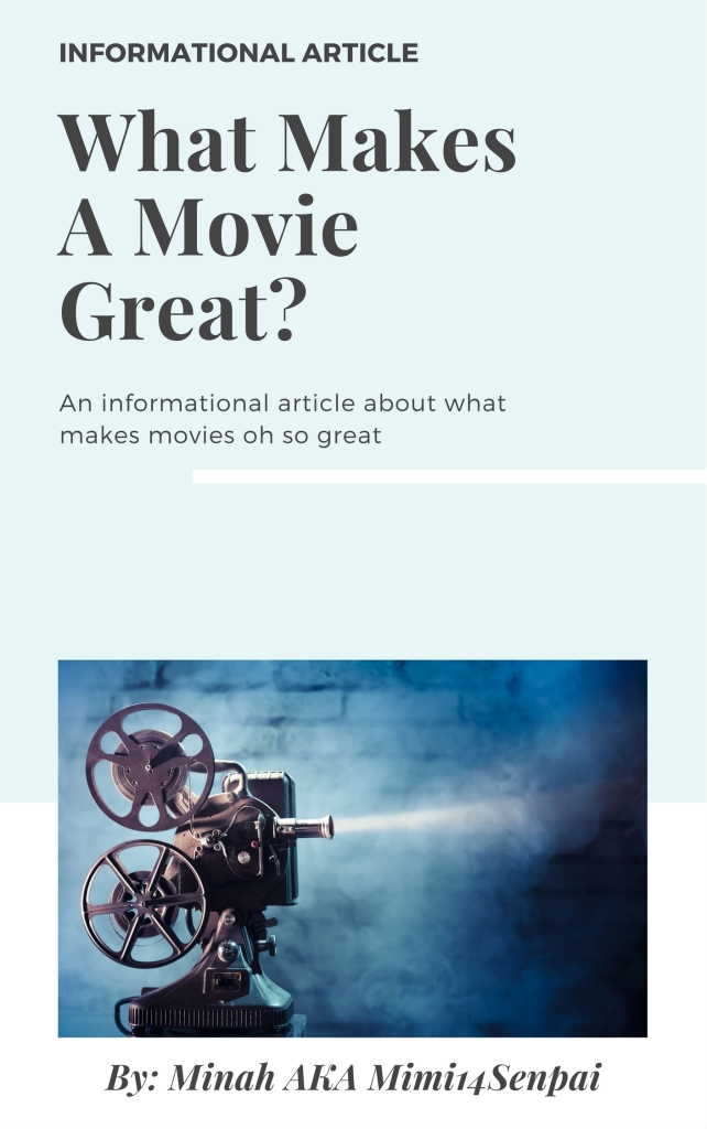 What Makes Movies Great (Cover)